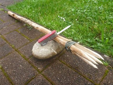 how to make a spear make your own survival fishing rod homestead survival
