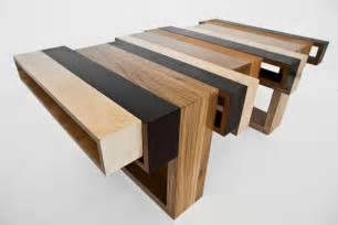 design table elegant wooden table collection made of leftover materials