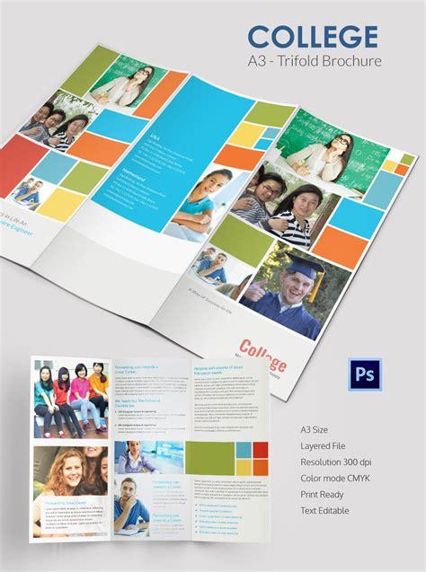 charity run tri fold brochure template word publisher