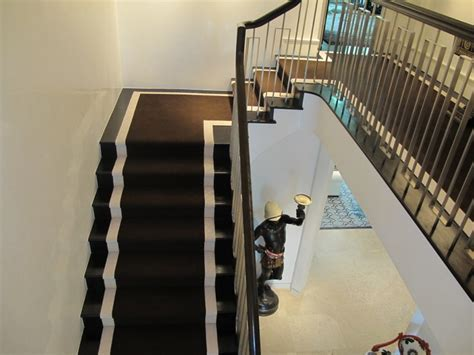 contemporary stair runners staircase traditional