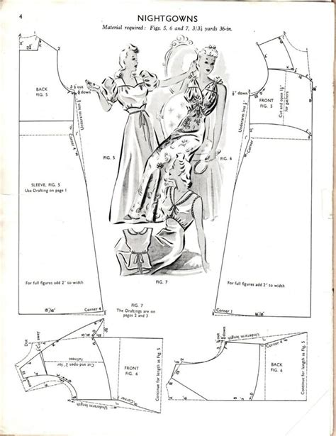 pinterest pattern drafting vintage nightgown pattern drafting patterns tutorials
