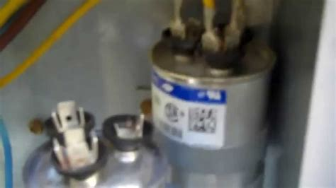 Air Conditioner  Working Common Capacitor Problem