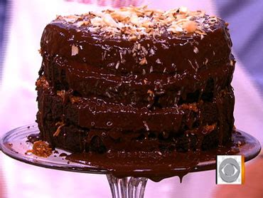 bobby flay s decadent german chocolate cake cbs news