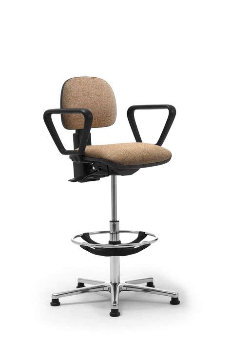 sgabelli per ufficio sgabelli operativi con seduta e schienale imbottiti