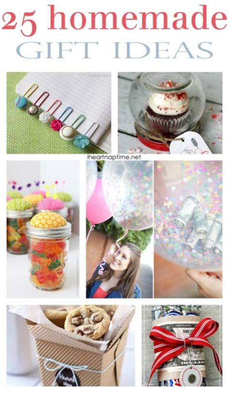 Handcrafted Gifts To Make - 101 inexpensive handmade gifts i nap time