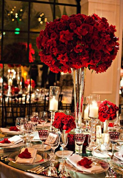 pictures decoration best 25 red rose centerpieces ideas on pinterest red