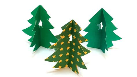 Easy Origami Tree - easy origami tree 3d tutorial how to