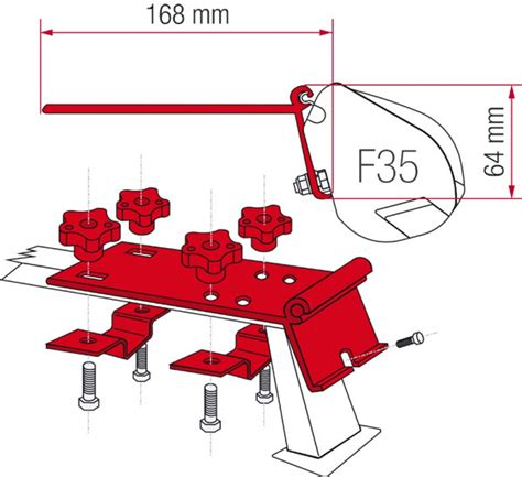 fiamma awning installation fiamma awning installation to roof rails standard adapter
