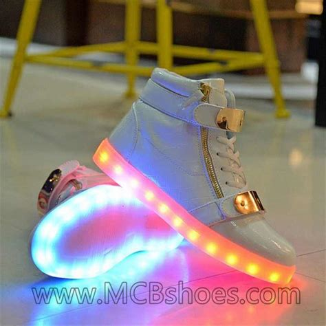 neon light up sneakers neon light up shoes wholesale kids high top led shoes