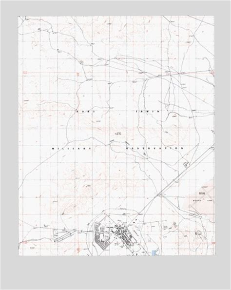 fort irwin map fort irwin ca topographic map topoquest