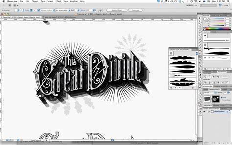 tutorial illustrator vintage adobe illustrator tutorial create vintage type styles