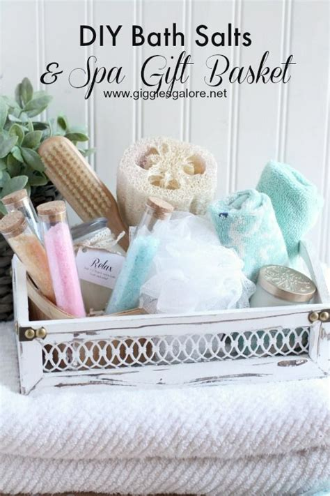 diy spa gifts diy bath salts spa gift basket recipe spa gift