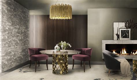 Modern Luxury And Contemporary 2017 koi modern dining table by brabbu