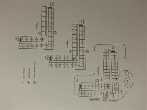 Wynn Las Vegas Floor Plan floor layout note 2 larger rooms on top 2 floors