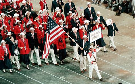 Team Wardrobe by As The Olympic Conclude A Look Back At U S Opening