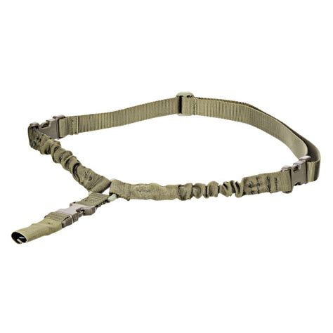 1 Point Bungee Rifle Gun Sling Green tactical 1 point detach stealth bungee rifle sling