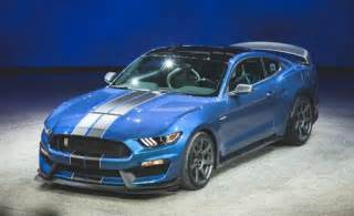 350 Gt California 2016 Ford Mustang Shelby Gt350r Photos And Info News