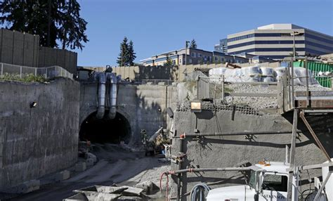 Light Rail Bellevue by Bellevue Light Rail Tunnel Advances On Schedule Without The Help Of A Big Drilling Machine
