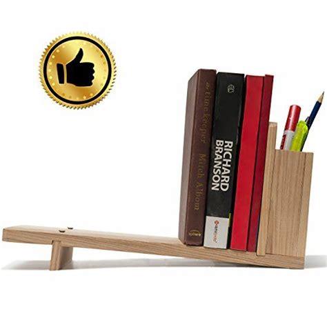 handmade wooden bookends book ends rack  skidbook