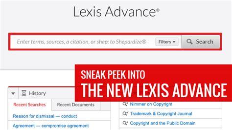 Lexis Advance Records Lexis Advance Research Lexisnexis