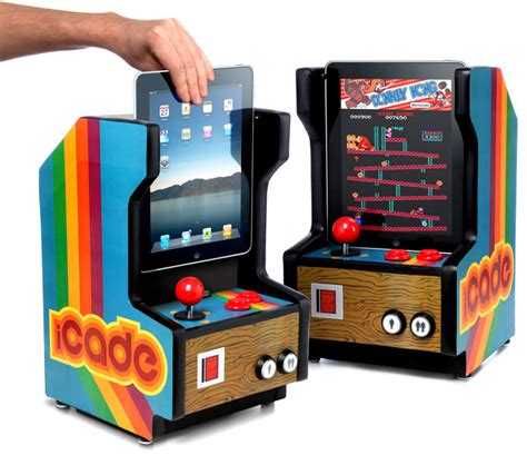 make your own arcade cabinet build your own arcade add an apple to the icade videogames retro 8 bit central