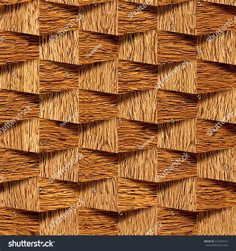 decorative brick wallpaper decorative wooden bricks 3d wallpaper interior stock