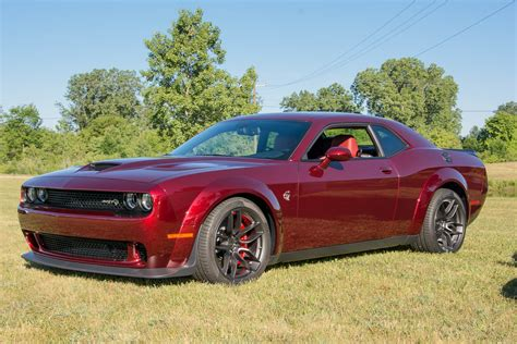 dodge challenger dodge challenger srt hellcat gets s wide look