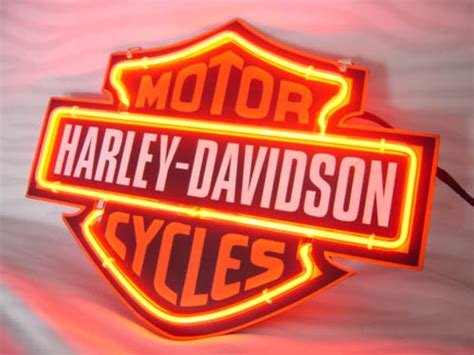 harley davidson lighted signs neonlightsign com shop various affordable neon light