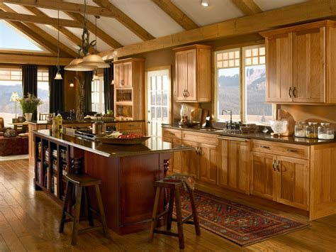 black rustic kitchen cabinets by kraftmaid kitchen hickory cupboards palm coast cabinets florida fl