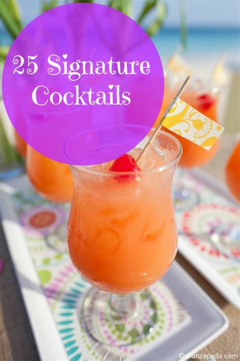 25 signature cocktails for a caribbean wedding bajan wed