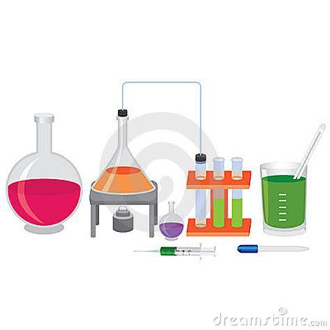 exp 233 rience chimique avec des liquides photographie stock