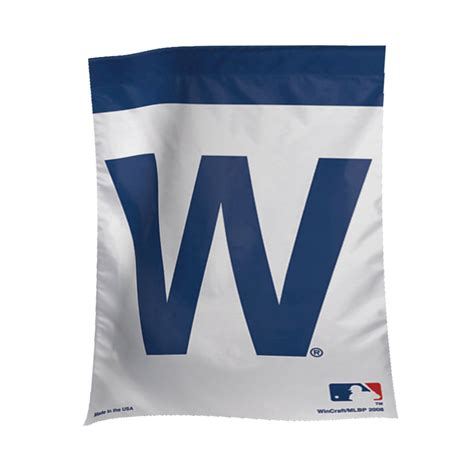 Chicago Cubs Garden Flag by Chicago Cubs W Garden Banner Flags International