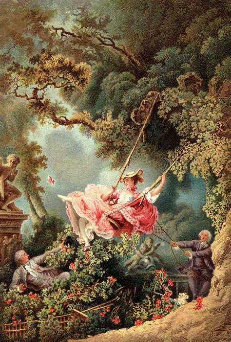 fragonard the swing 1767 1700s 1767 the swing by painter painting by vintage