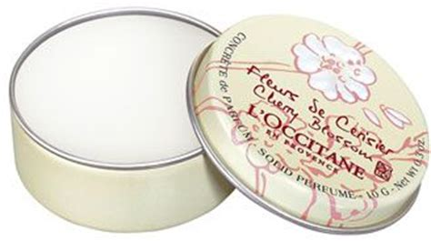 Simply Fab Marc Solid Perfume Ring by L Occitane Cherry Blossom Solid Perfume 7 Solid Perfumes