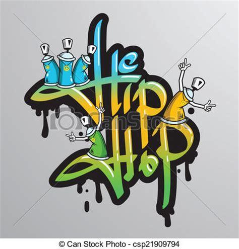 Line Grunge Swag Hiphop eps vectors of graffiti word characters print graffiti