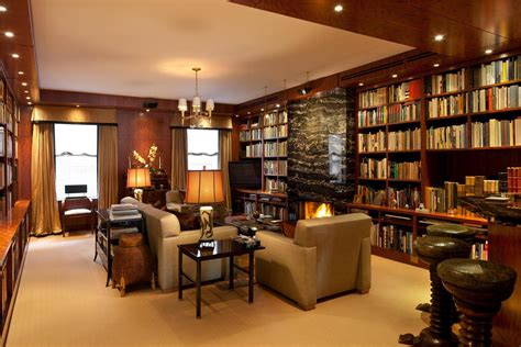 Home Design Examples home library room design examples home interior decoration