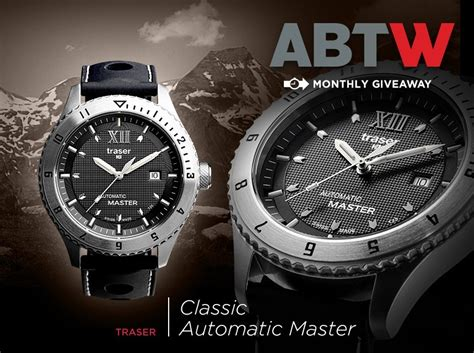 Watch Giveaways - watch giveaway traser classic automatic master ablogtowatch