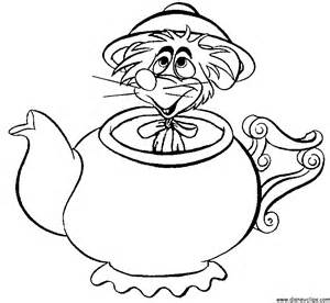 alice wonderland coloring az coloring pages