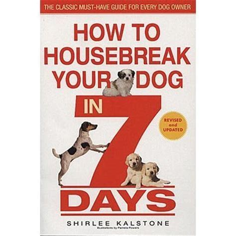 house breaking your dog jeffers pet how to housebreak your dog in 7 days book jeffers pet