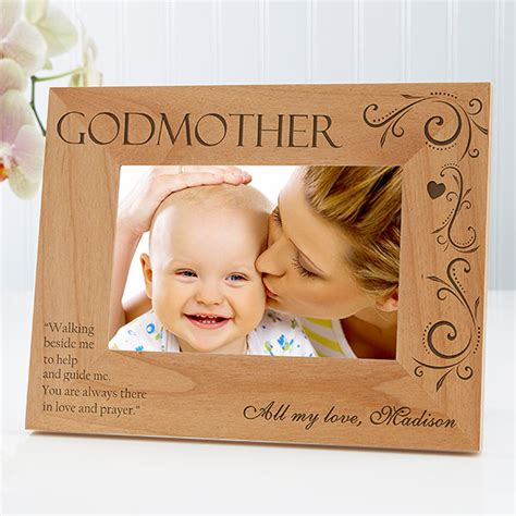 8299 godparent personalized photo frame