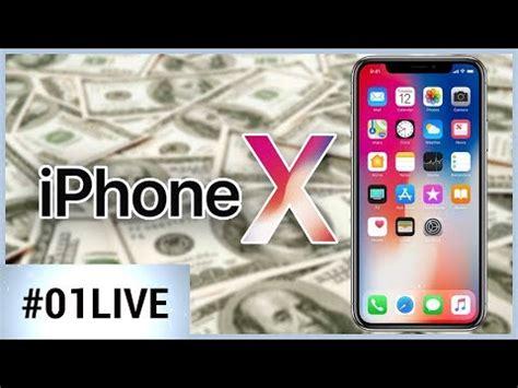 01live 154 pourquoi l iphone x est il aussi cher