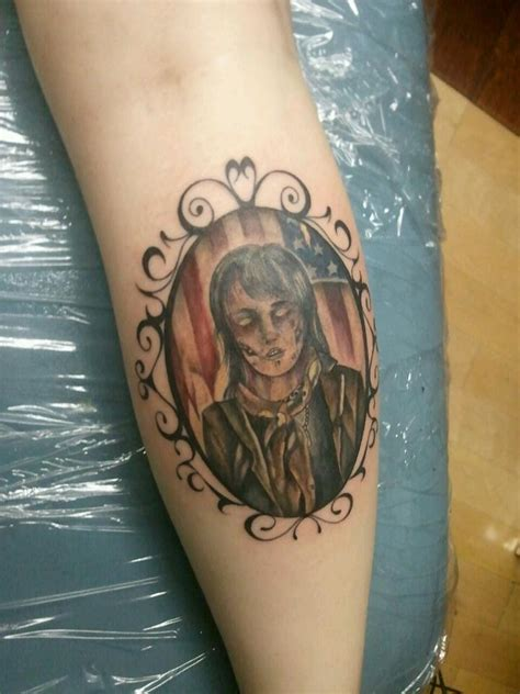 ronnie radke tattoo by amberxebright on deviantart