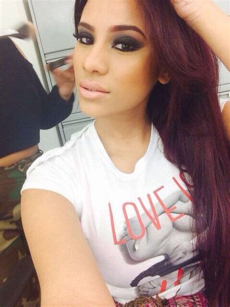 cyn santana burgundy hair cyn santana love her pinterest her hair in love