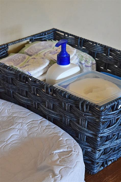 Diy Changing Table And Homemade Baby Wipes Make Your Own Changing Table