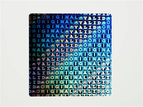Hologramm Aufkleber Drucken Lassen by Hologramme Aufkleber Drucken Siegel