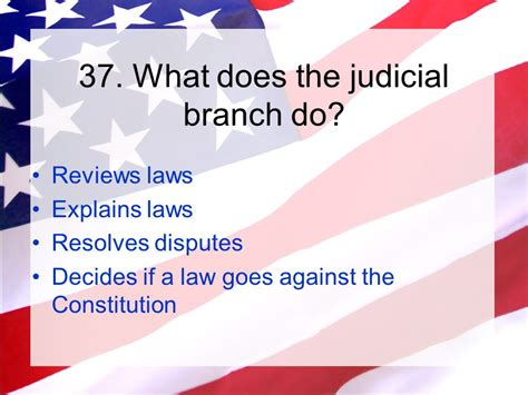What Does The President S Cabinet Do by U S Citizenship Test Ppt