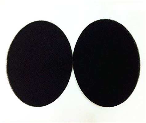 New Diy 35mm Replacement With Sennheiser Logo vever 174 replacement inside tone tuning foam earpads for sennheiser hd650 hd600 hd598 headphone