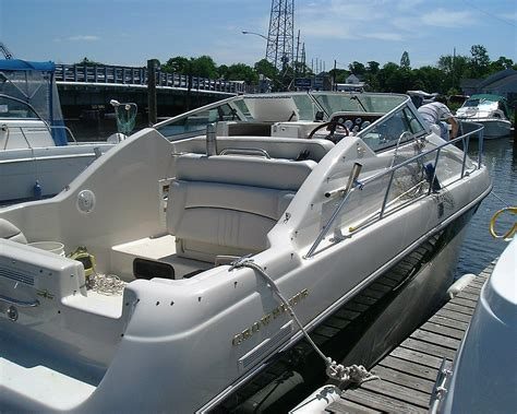crownline boat with outboard crownline 250 cr with cuddy cabin 1998 for sale for