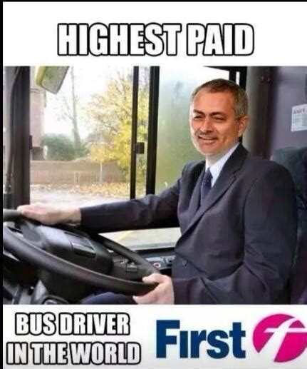 Mourinho Meme - chelsea quot parking the bus quot jokes memes sweep the internet