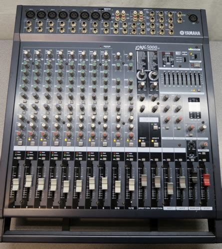 Power Mixer Yamaha Emx5000 yamaha emx5000 12 powered mixer 12 channel with built in dual effects ebay